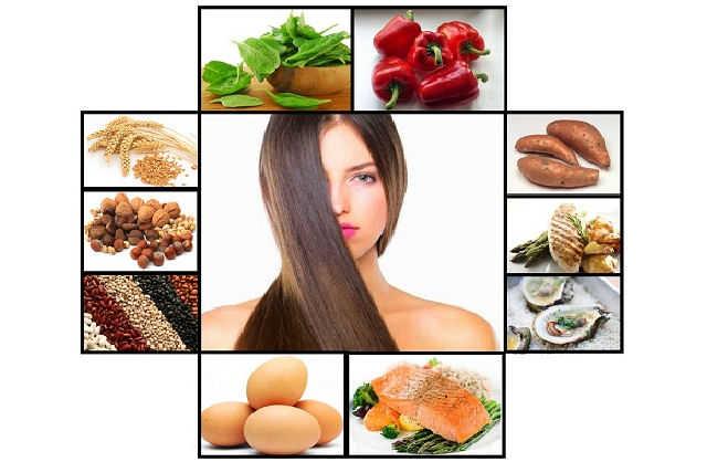 biotina pentru par alimente