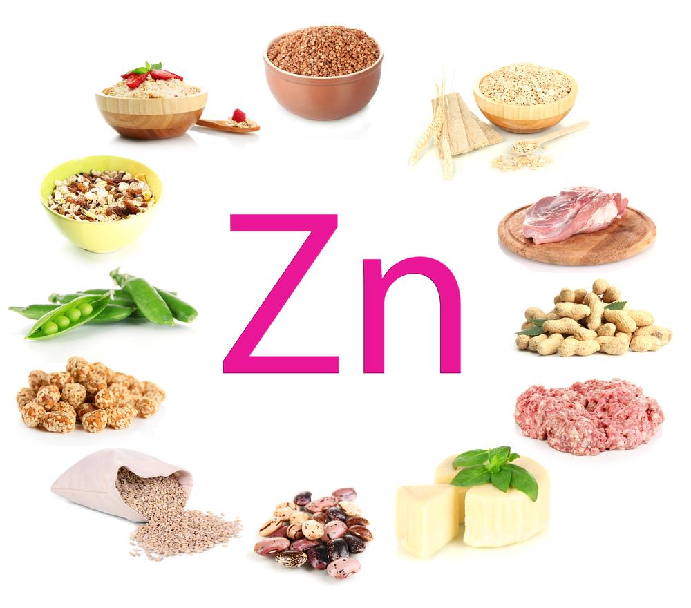 zinc alimente